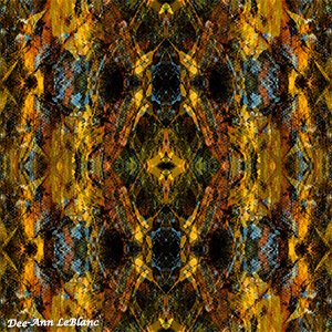 Dee-Ann LeBlanc seamless pattern piece for Kaleidescape