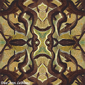Experimental pattern tile Forest Spirit watermarked