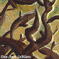 Forest Spirit pattern piece watermarked
